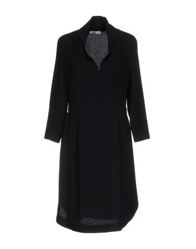 Ottod'ame Short Dress In Dark Blue