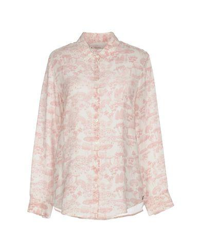 Ottod'ame Floral Shirts & Blouses In Pink