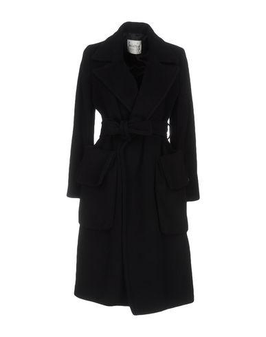 Ottod'ame Belted Coats In Black