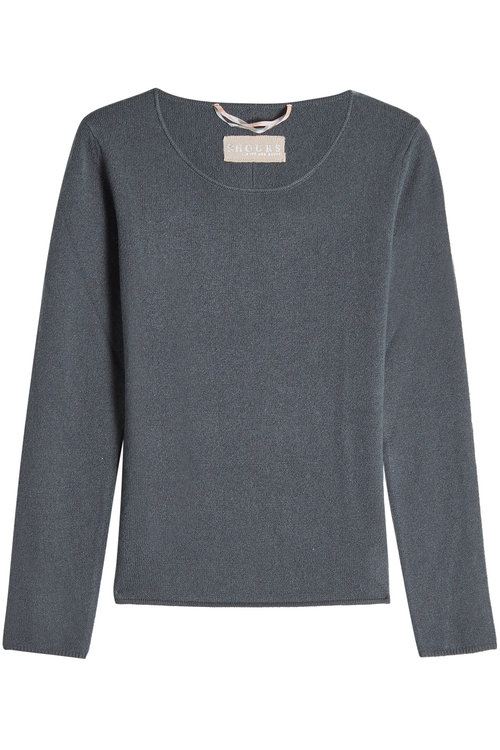 81 Hours Cashmere Pullover In Green