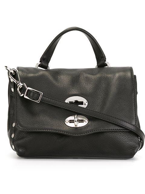 Zanellato 'postina Baby' Crossbody Bag In Black
