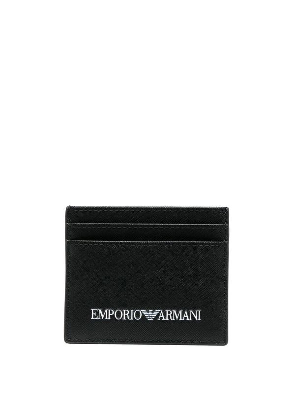Emporio Armani Wallets - Item 46768046 In Black