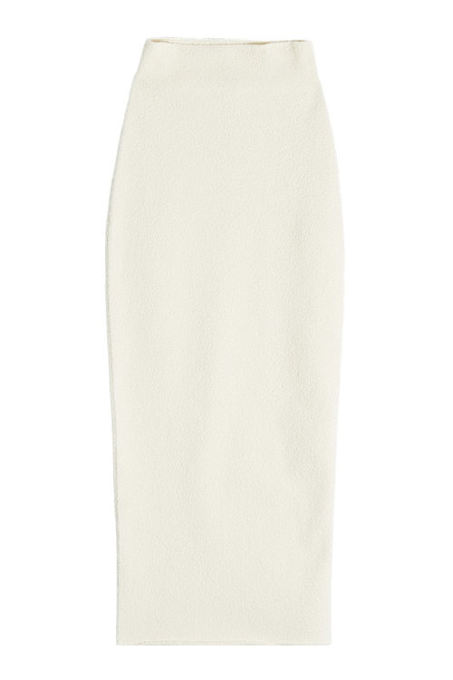 Yeezy Stretch Skirt With Cotton In Beige