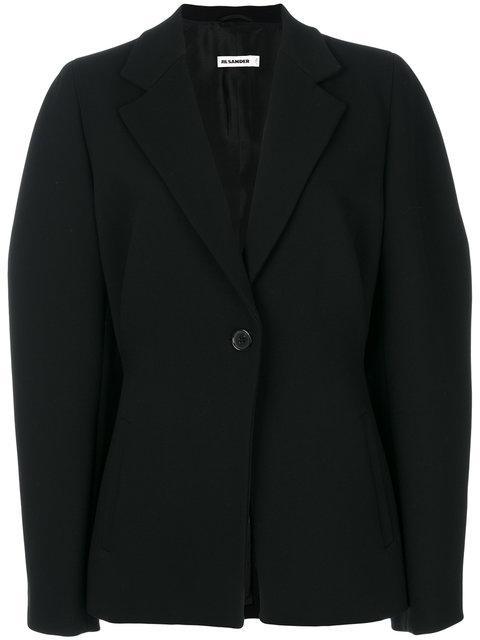 Jil Sander Oversized Blazer - Black
