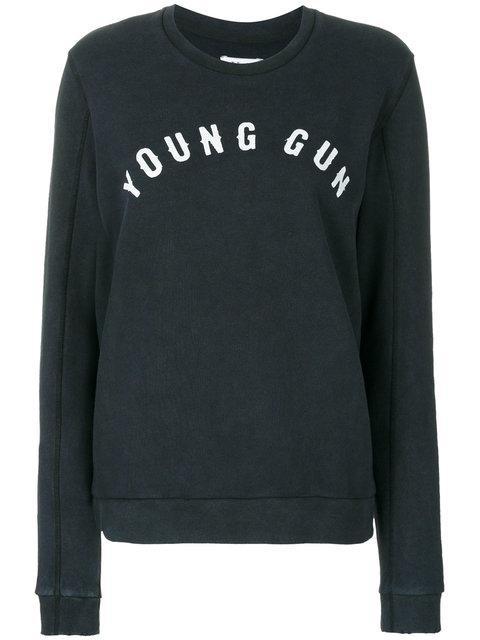 Zoe Karssen Young Gun Sweatshirt - Grey