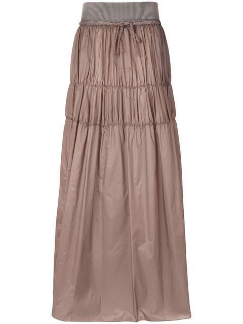 Maison Margiela Tiered Parachute Maxi Skirt
