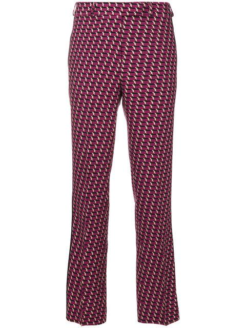 Etro Geometric Print Trousers