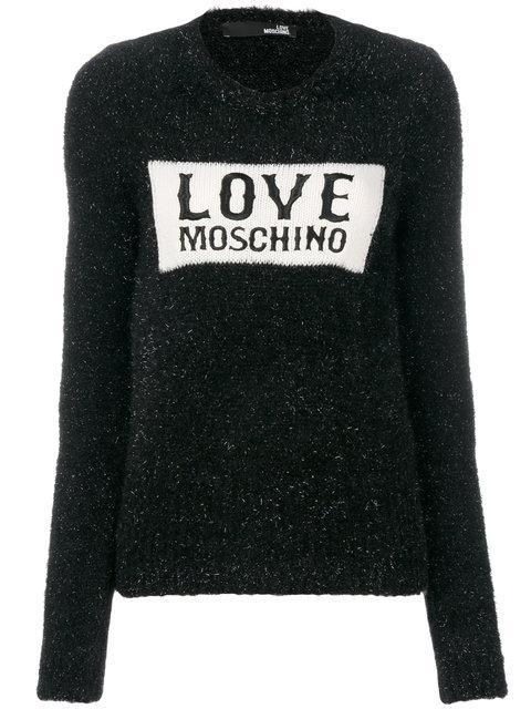 Love Moschino Sweater Sweater Women Moschino Love In Black