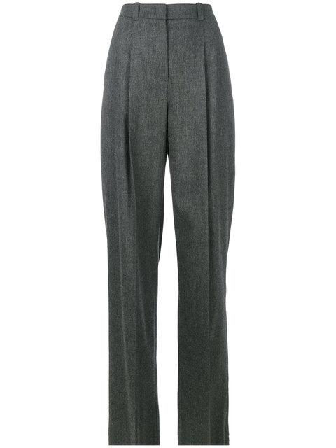 Jil Sander Pleated Wide Leg Trousers