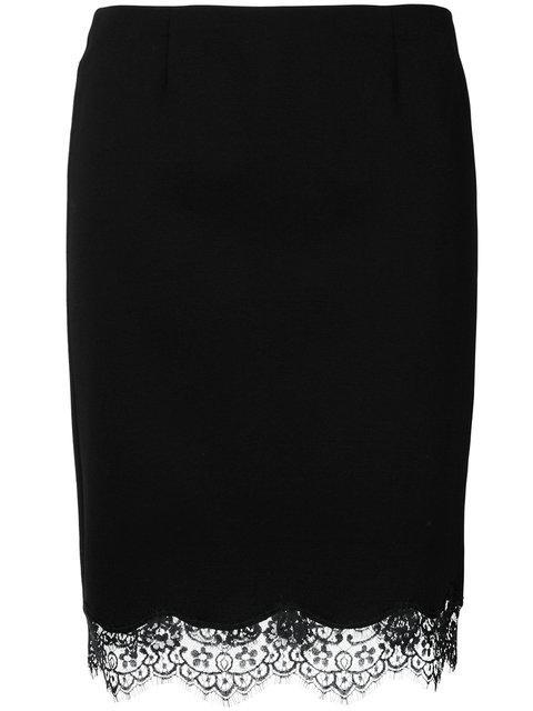 Blumarine Lace Trim Skirt