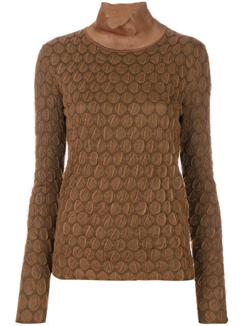 Marni Textured Fine Knit Knit Sweater