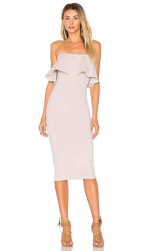 Donna Mizani Victoria Dress In Beige