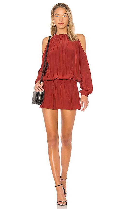 Ramy Brook Lauren Dress In Red