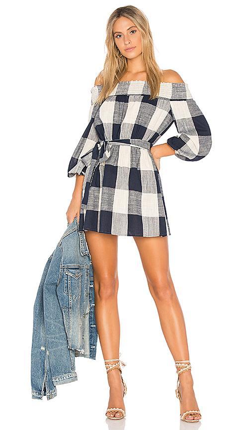 Tularosa X Revolve Maxine Dress In Blue