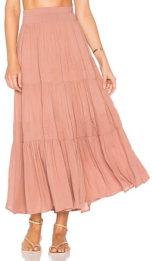 Indah Bari Skirt In Rose
