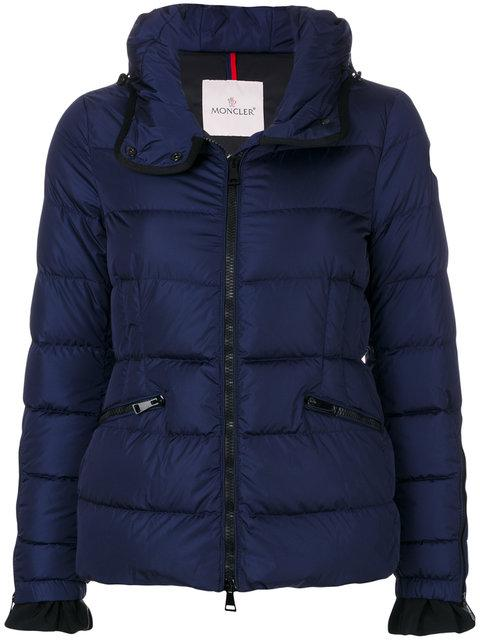 Moncler Betula Down Jacket In Blue