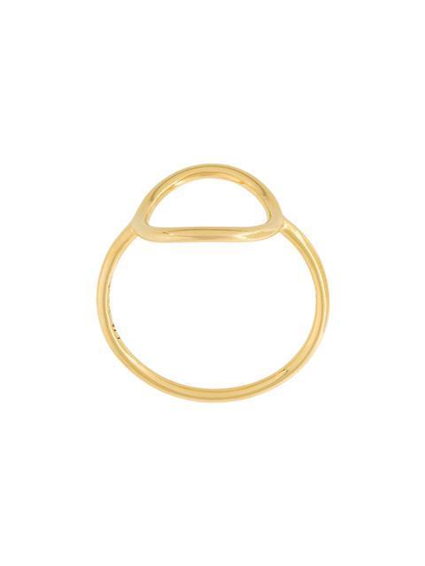 Maria Black 'monocle' Ring - Metallic