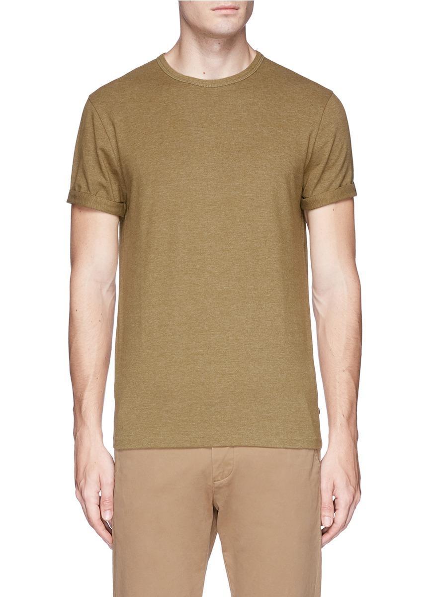 Scotch & Soda Brushed Jersey T-shirt