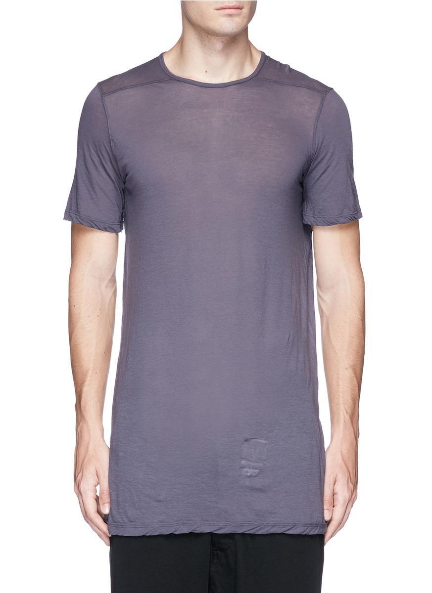 Rick Owens Drkshdw Sheer T-shirt