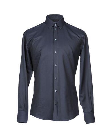 Dolce & Gabbana Shirts In Steel Grey