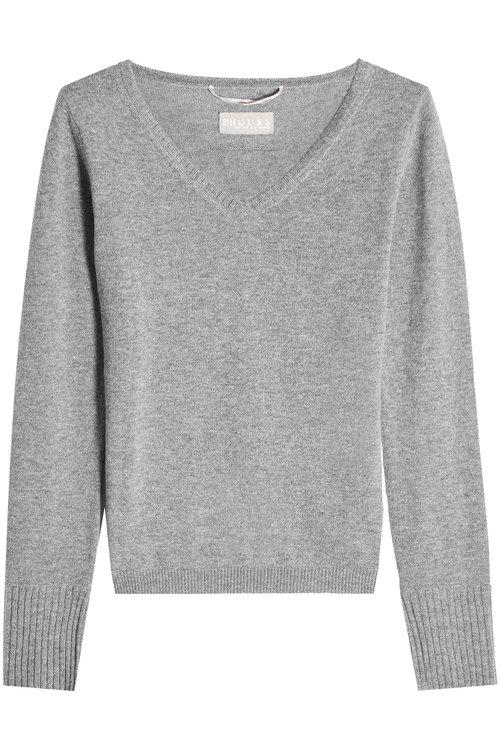 81 Hours Cashmere Pullover In Grey