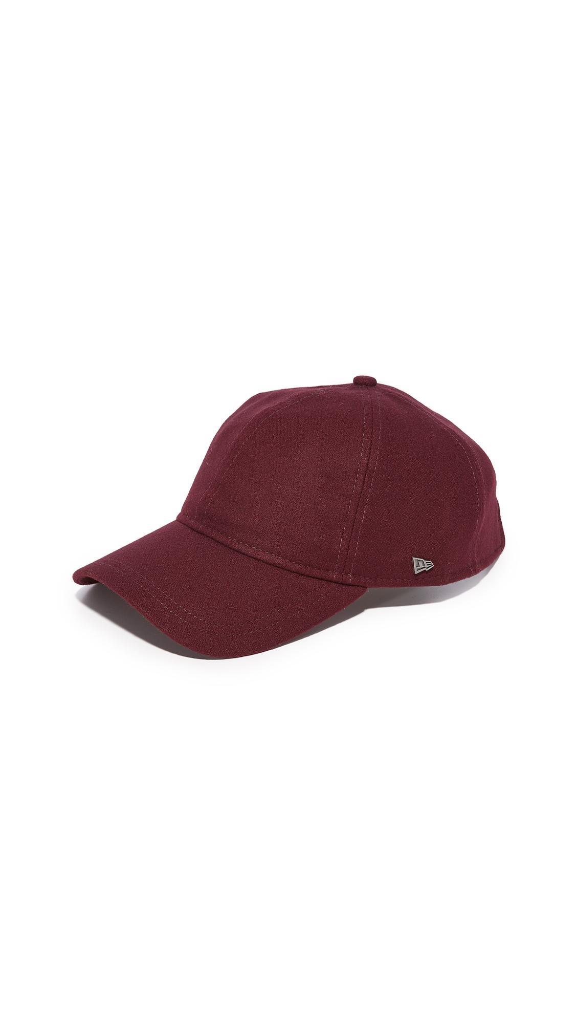 New Era Essential 9twenty Cap In Red