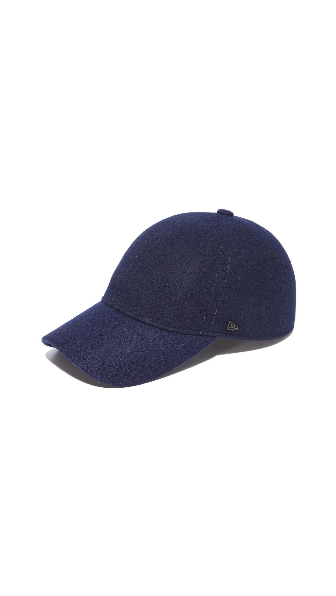 New Era Molded Baseball Cap In Navy