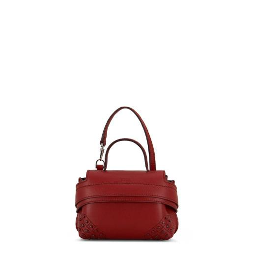Tod's Wave Bag Charm In Red