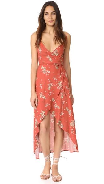Somedays Lovin Lover To Lover Wrap Dress In Multi