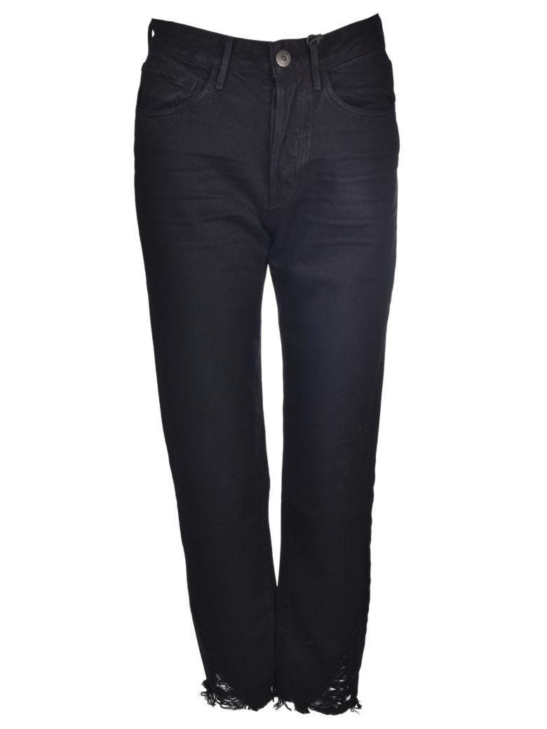 3x1 Higher Ground Boyfriend Jeans In Black