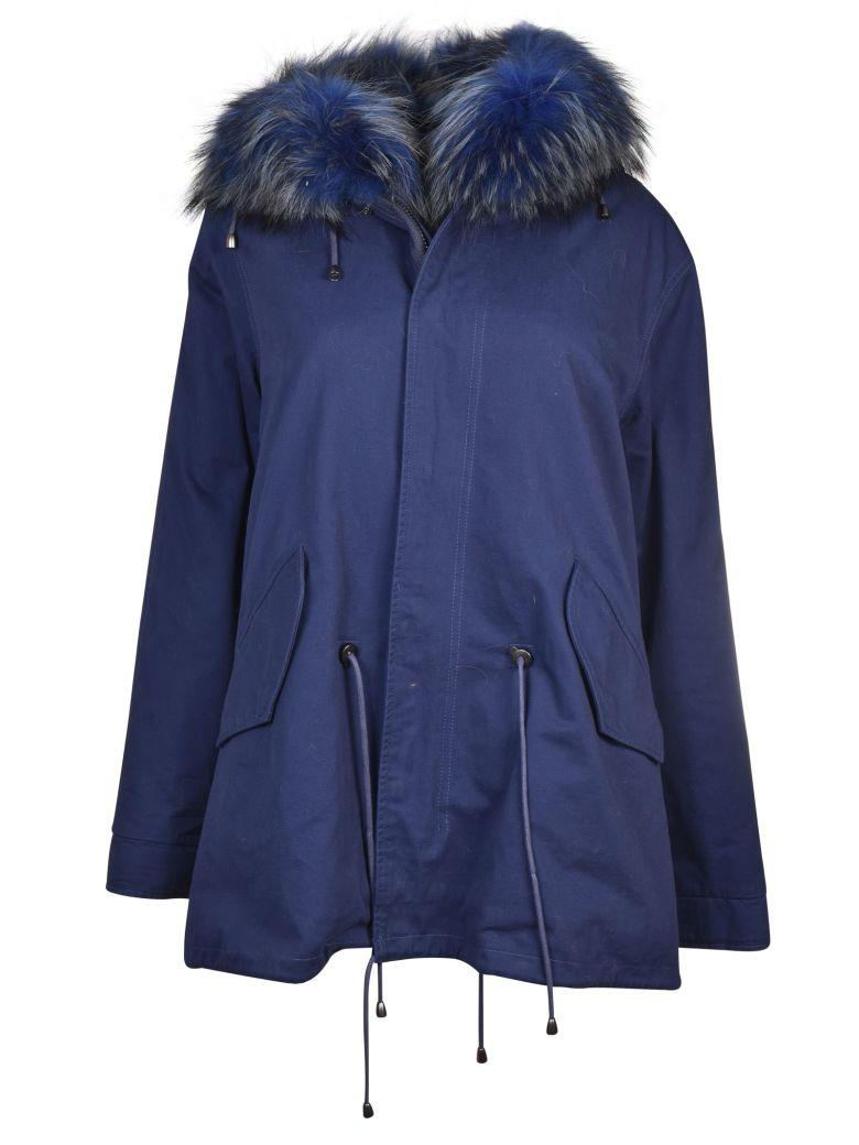 Forte Couture Arnold Parka In Blue