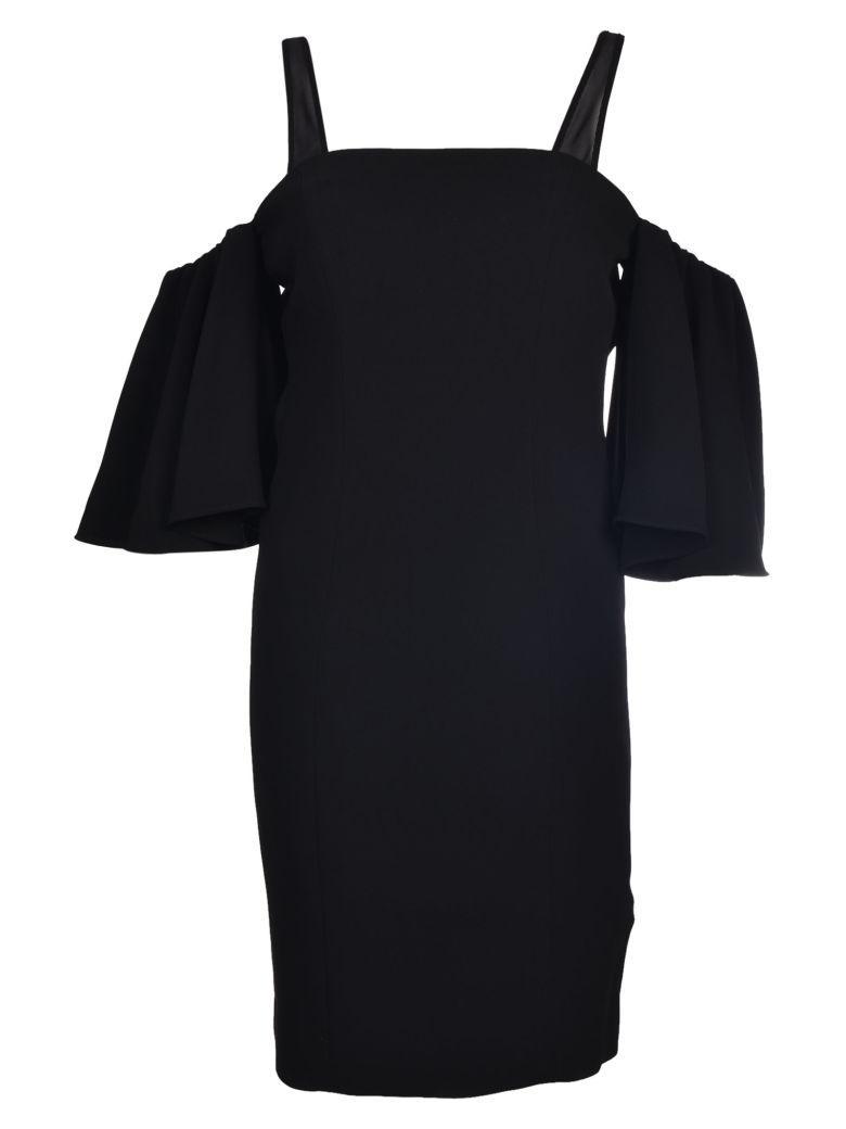 Cinq À Sept Cinq A Sept Cold Shoulder Dress In Black