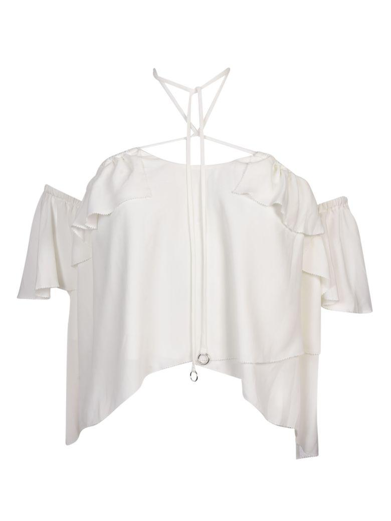 Cinq À Sept Cinq A Sept Off-shoulder Ruffle Top In White