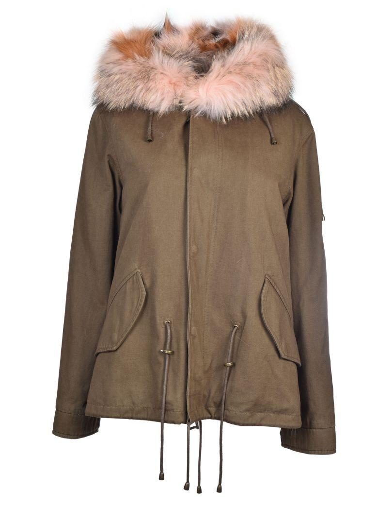 Forte Couture New Gala Military Parka In Brown