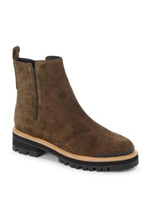 Sigerson Morrison Smilser Zip-up Ankle Boots In Stone