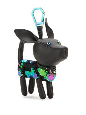 Kendall + Kylie Sophie Summer Dog Bag Charm In Black