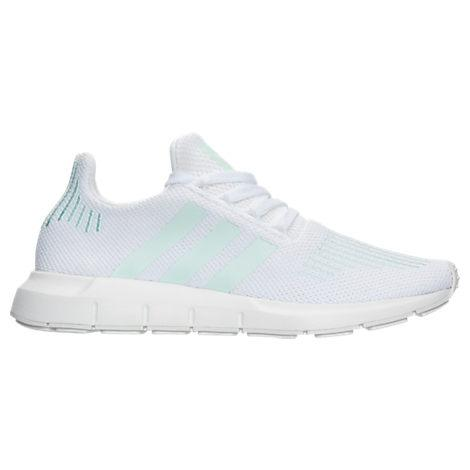 1150d4c0612a Adidas Originals Adidas Women s Swift Run Casual Sneakers From Finish Line  In White  Grey