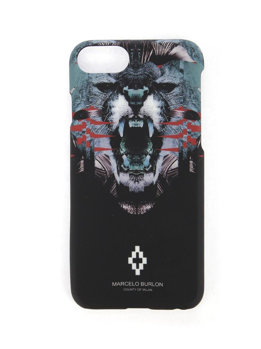 Marcelo Burlon County Of Milan Matawen Iphone 7 Plus Case In Black
