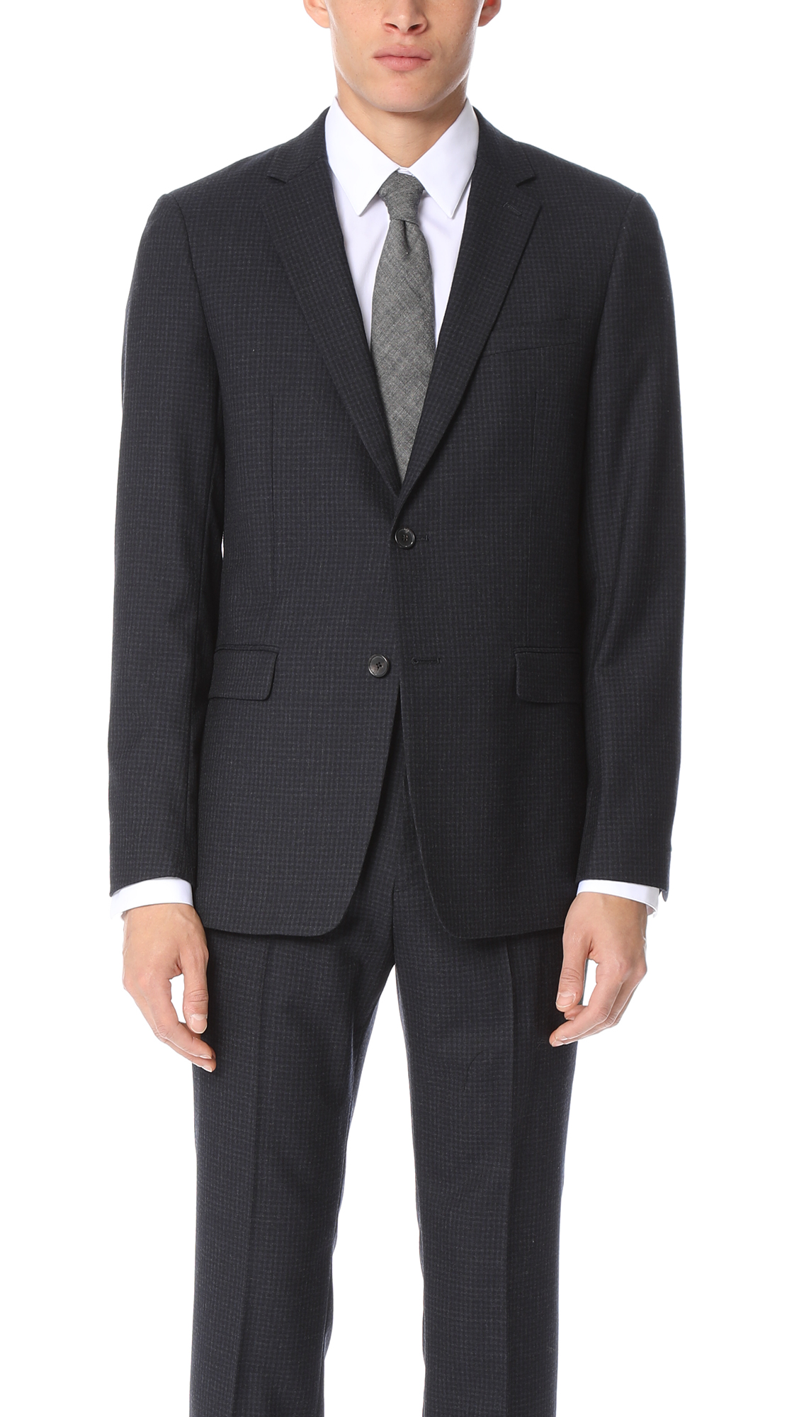 Theory Ganesvoort Suit Jacket In Eclipse Multi