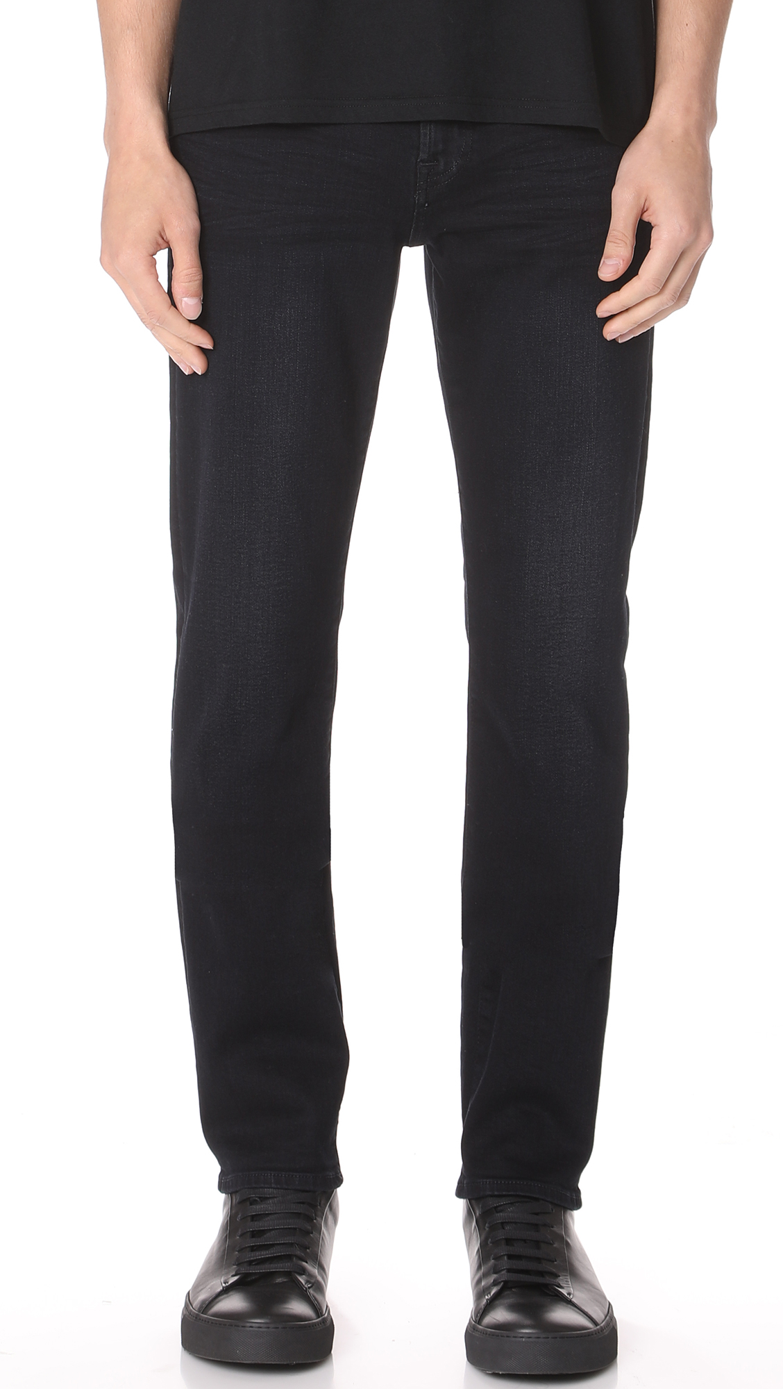 7 For All Mankind Slimmy Luxe Perfect Fit Jeans In Stockholm