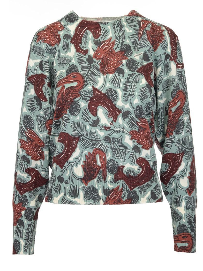 Burberry Clarach Pullover In Multicolor