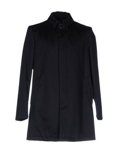 Dondup Coats In Dark Blue