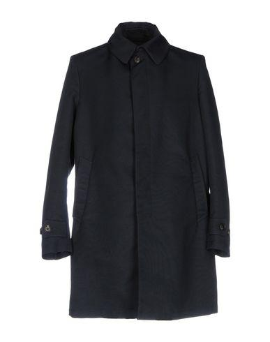 Dondup Overcoats In Dark Blue