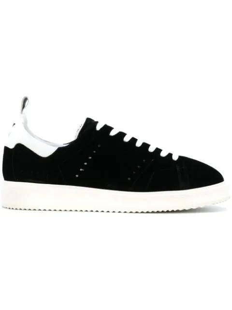 Golden Goose Deluxe Brand Starter Sneakers In Black