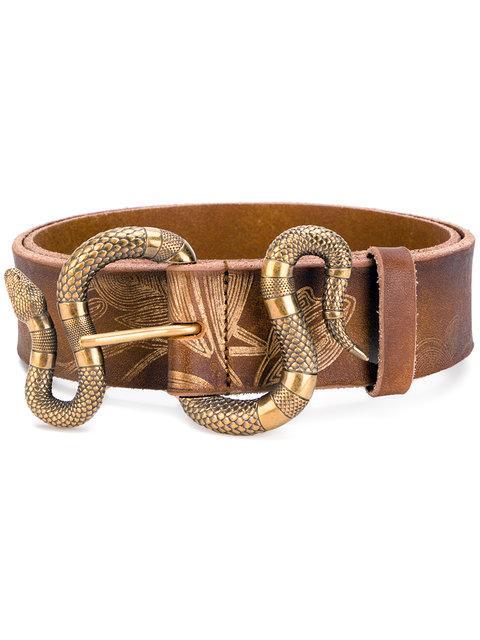 Gucci Snake Buckle Belt