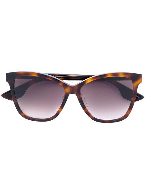Mcq By Alexander Mcqueen Mcq Alexander Mcqueen Square Frame Sunglasses - Brown