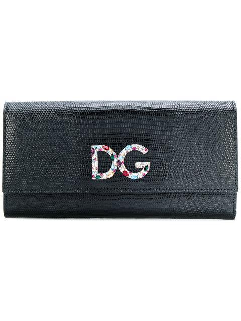 Dolce & Gabbana Logo标牌钱包 In Black