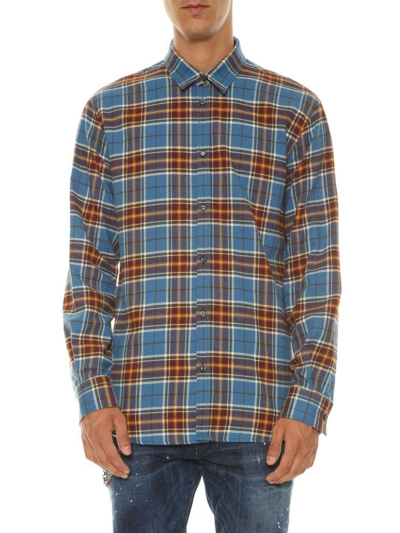 Dsquared2 Checked Shirt In Multicolor