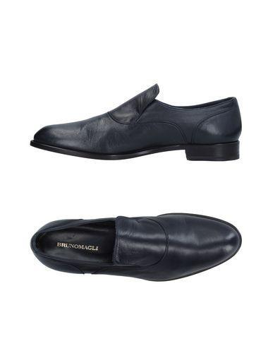 Bruno Magli Loafers In Dark Blue
