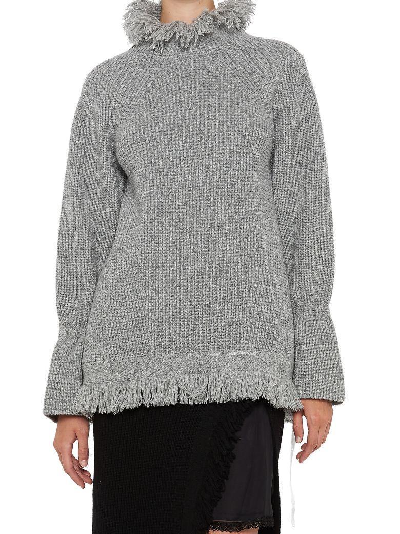 Sacai Sweater In Grey